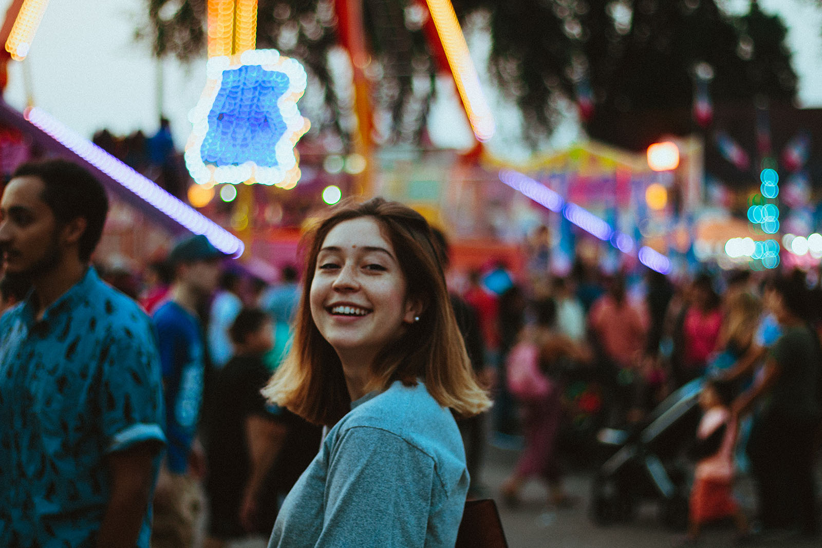 A portrait of Asia Cruz at the MN State Fair